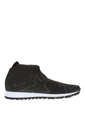 'norway' sneakers with sock od Jimmy Choo